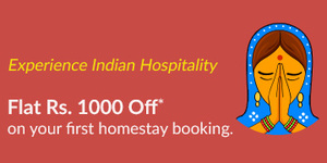 Flat Rs.1000 off on first stay @ Travelguru